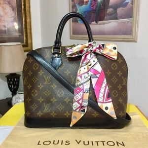 Louis Vuitton Monogram Alma Handbag 👜 Black